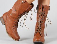 combat boots<3
