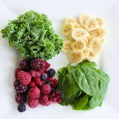 Some smoothie ingredients