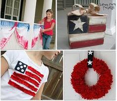 Variety of Crafts for Memorial Day