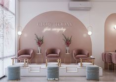 Spa Room Decor, Beauty Room Decor, Beauty Salon Decor, Beauty Salon Design, Beauty Salons, Nail Salon Design, Nail Salon Decor, Modern Nail Salon, Schönheitssalon Design