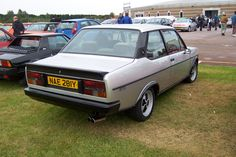 Fiat 131 Mirafiori Sport. Owned one, great cars to drive. Never got mine done up :( Very rare now, saw a left hand drive in France that needed a respray for £12,500! Payed a few hundred for mine.