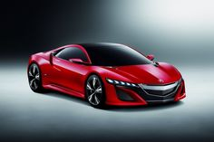 2012 Acura NSX Concept Painted Red