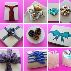 Unconventional Gift Toppers