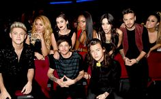 fifth harmony + one direction - american music awards