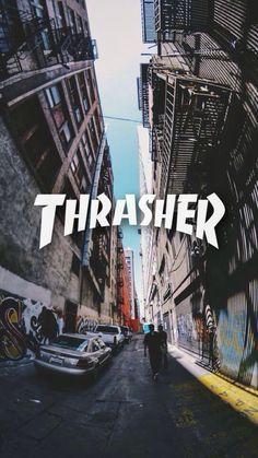 Thrasher iPhone 7 Plus Case Thrasher, Skateboard Room, Skateboard Design, Retro Wallpaper, Wallpaper Iphone Cute, Iphone Wallpaper Tumblr Aesthetic, Aesthetic Wallpapers, Photo Wall Collage, Picture Wall