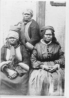 Tasmanian Aborigines c 1868