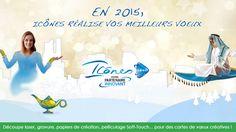 Campagne nouvelle année pour souhaiter nos meilleurs vœux à tous nos collaborateurs.