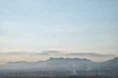 Mountains at sunrise by Kynamuia on Creative Market