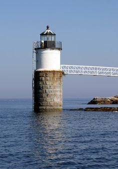 Ram Island #Lighthouse - #Maine at Lighthousefriends.com http://www.roanokemyhomesweethome.com
