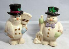 Lenox Christmas Snowman Salt and Pepper Shakers Tall Lenox Christmas, Christmas Snowman, Christmas Ornaments, Salt Pepper Shakers, Salt And Pepper, Snowmen, Holiday Decor, Image, Ebay