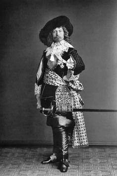 Keizer Wilhelm II (1885) als Große Kurfürst (Friedrich Wilhelm von Brandenburg, 1620 - 1688)