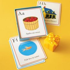 Double duty phonics flash cards and wall art! Great gift idea.