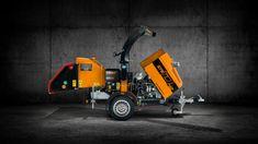 Broyeur de branches thermique diesel FÖRST ST6D Diesel, Trucks, Diesel Fuel, Truck
