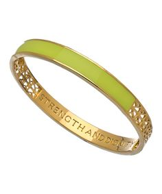 Matterial Fix Lemon Lime Bangle #maxandchloe
