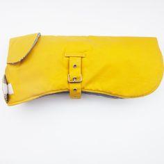Preppy Waxed Jacket – Yellow