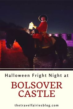 Review of Bolsover Castle Fright   Night |  Visit Bolsover Castle, a 12th   century house and castle in the heart of the Peak District, Derbyshire,   England | Not far to travel from Derby, Bolsover Castle is the perfect place   to spend Halloween | One of the most haunted places in the United Kingdom |   Add it to your Halloween ideas and activities as one of the best things to do   this year in Derbyshire #england #peakdistrict #darktourism #halloween Halloween Fright Night, Halloween Ideas, Halloween Attractions, Most Haunted Places, English Heritage, Travel Items, Peak District, Group Travel, 12th Century