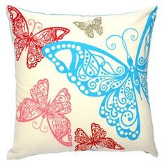 Beautifully crafted of cotton, this plush pillow offers a refreshing finishing touch for your d�cor.