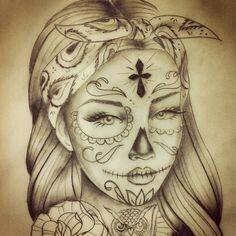 Catrina tattoo ♡