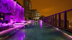 The W Hotel, Hong Kong.