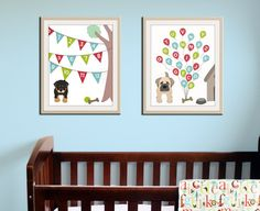Hey, I found this really awesome Etsy listing at https://www.etsy.com/listing/120714542/baby-nursery-art-print-dog-abc-nursery