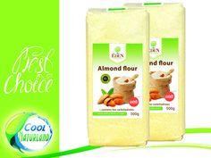 Almond Flour, Mandelmehl  Lowcarb gemahlen 2x500g+Gratis Himalaya Salz 500g