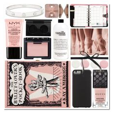 Ballerina by s866422b on Polyvore featuring polyvore beauty NYX NARS Cosmetics MAC Cosmetics philosophy Gucci Nails Inc. Case-Mate Cartier J.Crew Olympia Le-Tan ACCO Beauty ballerina ballet beoriginal beautyset