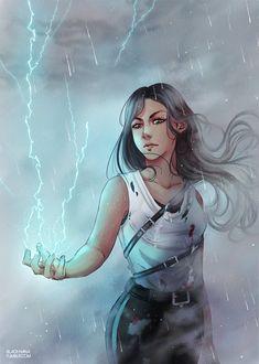 Little Lightning Girl by Low-Chan.deviantart.com on @DeviantArt
