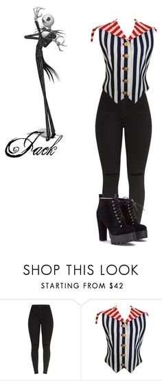 """""""The nightmare before Christmas"""" by michdrpenguin ❤ liked on Polyvore featuring Versus"""