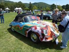 Janis Joplin's pshydodelic Porsche...