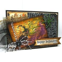 The Ink Trap: My October 6th class at CP2 @Cheryl Valadez using #Stampendous #Halloween with alcohol inks October 6th!
