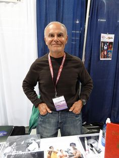 "Actor John Saxon (""Enter the Dragon"" ""Nightmare on Elm Street"" ""Queen of Blood"" ""Battle Beyond the Stars"" and a million other movies & TV shows)."