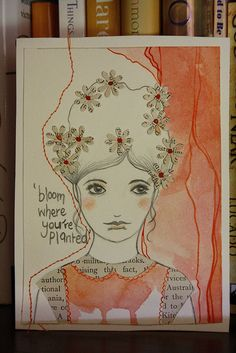 Bloom Where You Are by one red fox, via Flickr