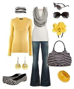 """""""black, white, and yellow"""" by htotheb ❤ liked on Polyvore featuring Dolce&Gabbana, Diesel, Miss Selfridge, Meira T, Rocket Dog, Juicy Couture, Kate Spade, Roberto Cavalli, Wet Seal and Effy Jewelry"""