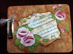 Painted clip board