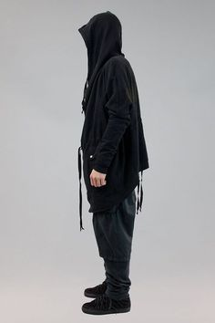 Silent by Damir Doma Oversized Zip Hoodie.