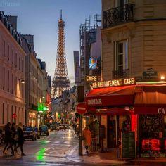 Inspirational Paris corner view.