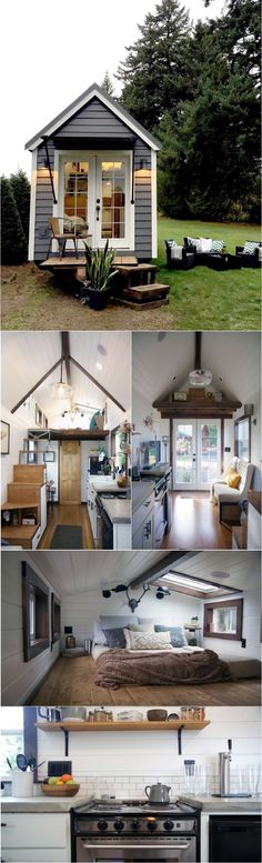21 Small Homes with All the Comfort You Can Ask For - Ritely Little Houses, Tiny Houses, Small Bottles, Building A House, Building Ideas, Small Homes, House 2, Small Living, Small Spaces