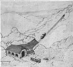 Projecte tramvia, funicular.