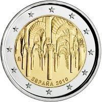 """Spanje bijzondere 2 Euromunten - Spanje 2 Euro 2010 """"Cordoba"""""""