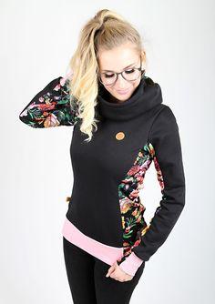 Colour Blocking Fashion, Diy Tops, Hoodie Pattern, Clothing Hacks, Sewing Clothes, Refashion, Hoodies, Sweatshirts, Dressmaking