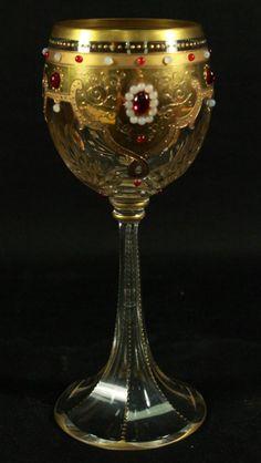 Moser Wine Glass...Wow!