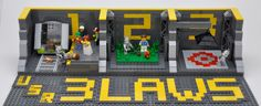 Three Laws of Robotics in LEGO!