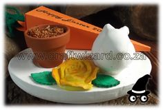 """Easter Table Decoration - Easter Gifts - Easter Favours - This  Easter Table Decoration will double up as gifts and favours and can be """"dressed"""" to suit any occasion."""
