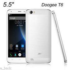 "Unlocked 5.5"" DOOGEE T6 Android Dual SIM 13MP 4G LTE Smartphone 16GB 6250mAh LOT"