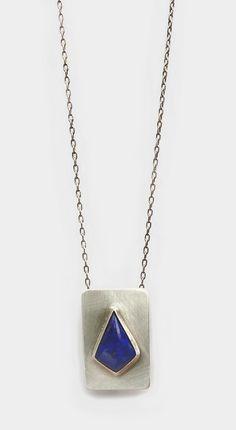 Lapis Lazuli & Silver Necklace