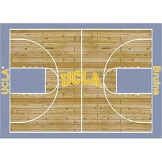 """College Court UCLA Bruins Rug Size: 10' 9""""x13' 2"""" $718.80 - I need this rug"""