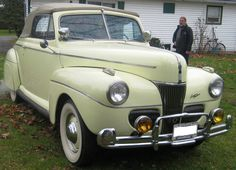 1941 Ford Super Deluxe Convertible Coupe designed by Gordon Buehrig