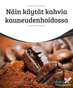 Näin käytät kahvia kauneudenhoidossa  Kahvi on tehokas ja moninainen juoma. Nykyään ollaan yleisesti sitä mieltä, että kahvilla on terveydelle #hyödyllinen vaikutus, kunhan sitä nauttii #kohtuudella. Liiallinen kahvin juominen voi johtaa kohonneeseen #verenpaineeseen ja jopa rytmihäiriöihin, kun taas pari kupillista päivässä pitää sydämen terveenä.  #Kauneus