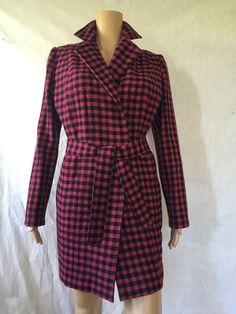 Купить Пальто на запах в клетку( короткое ) - пальто в клетку, клетчатое пальто, пальто на запах