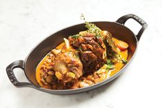 Best Bite: Jarret d' Agneau with Flageolet Ragout at The French in Naples, FL- Gulfshore Life -February Photo by Vanessa Rogers French Ragout Recipe, Steak Tartare, Lamb Shanks, Beef, Dishes, Naples, Sample Resume, Ethnic Recipes, February